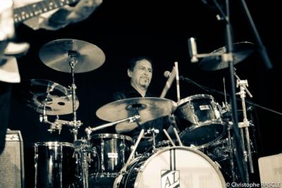 Karsten Helmbold am Schlagzeug